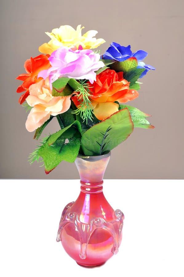 Flores no potenciômetro de flor fotos de stock royalty free