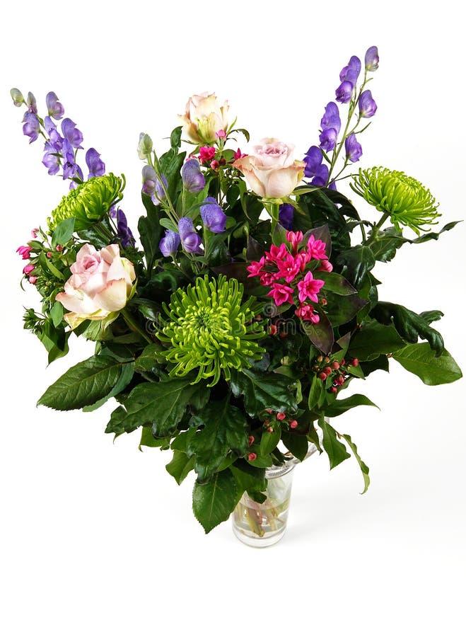 Flores no vaso imagem de stock