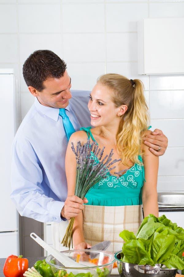 Flores para a esposa fotos de stock