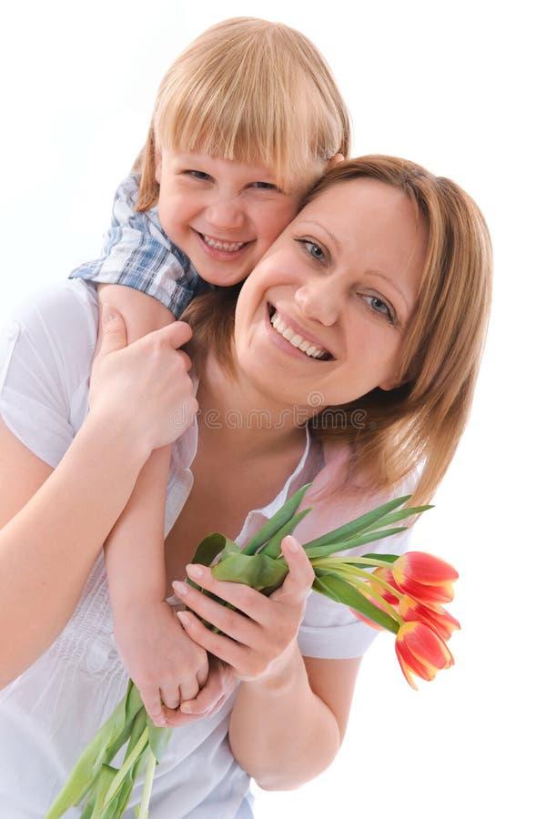 Flores para la mama imágenes de archivo libres de regalías