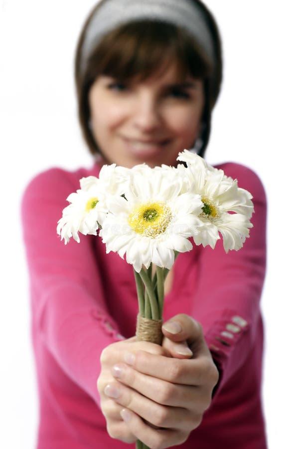 Flores para usted fotografía de archivo libre de regalías