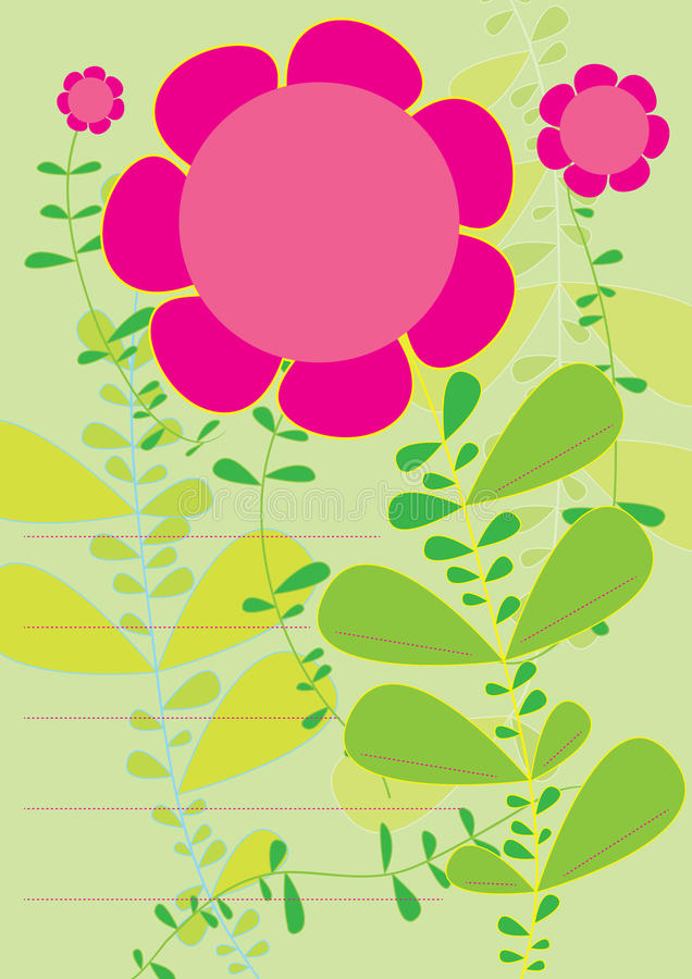 Flores Profile_eps libre illustration