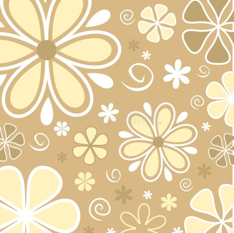 Download Flores retros ilustração do vetor. Ilustração de arte, projeto - 525931