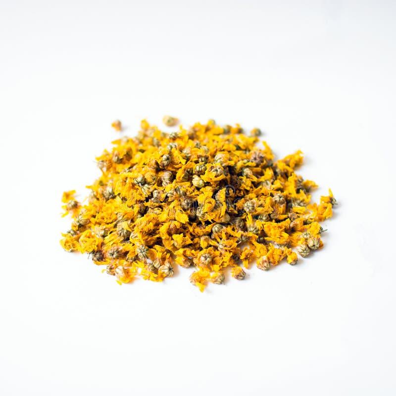 Flores secadas do crisântemo para fazer o chá imagem de stock royalty free