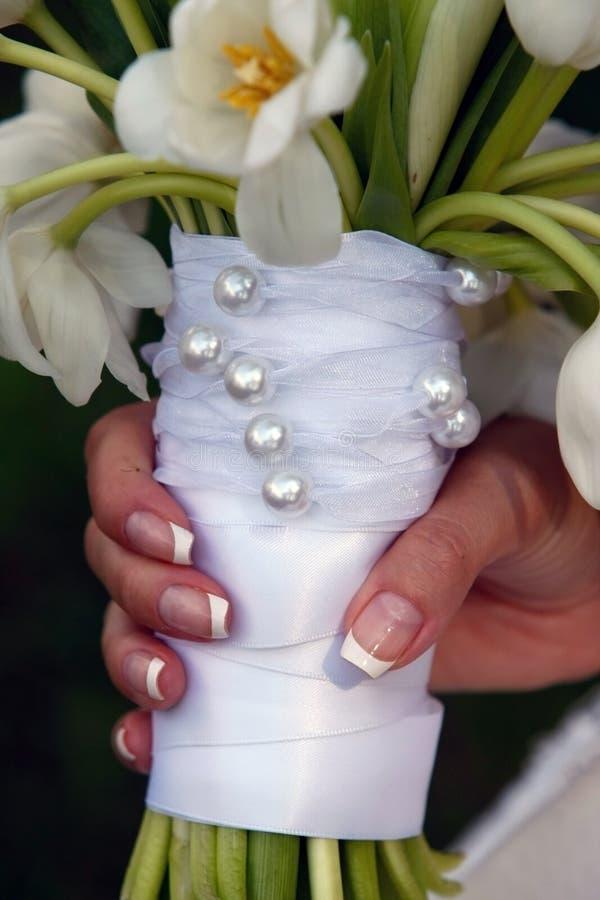 Flores usadas para las bodas fotos de archivo libres de regalías