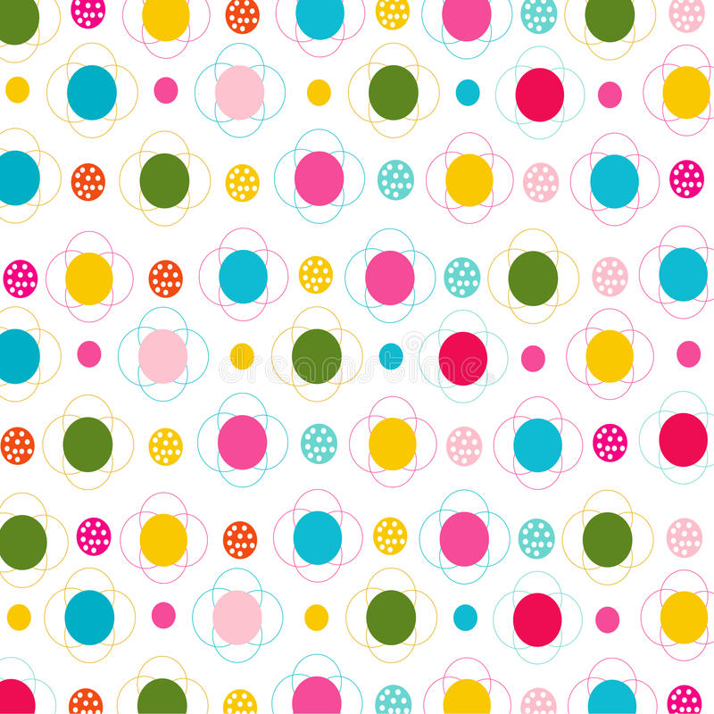 Download Flores Y Modelo Inconsútil De Los Puntos Stock de ilustración - Ilustración de simple, decoración: 42444013
