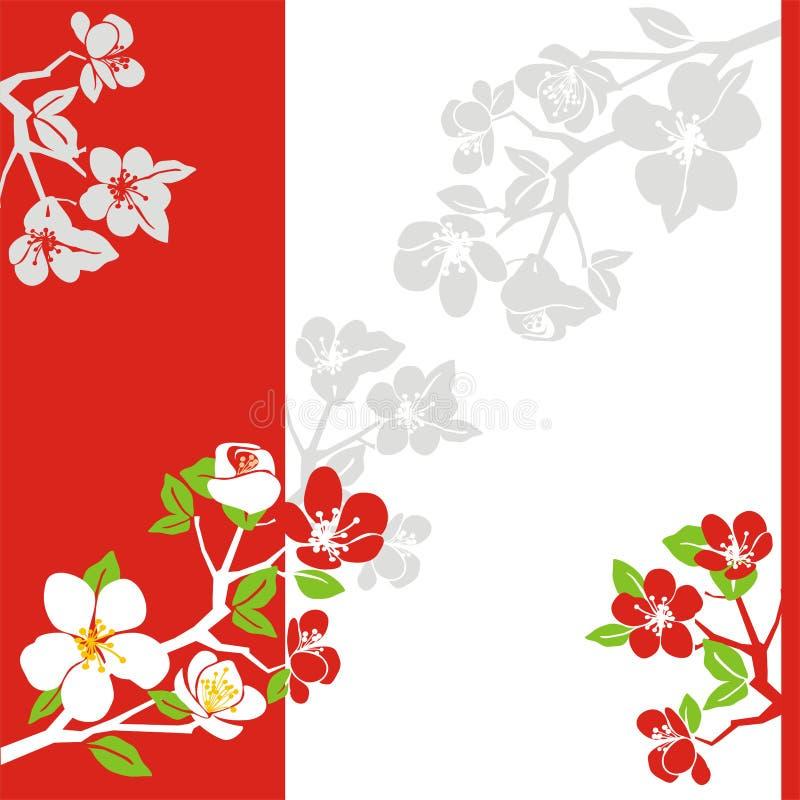 Florescência da mola ilustração stock