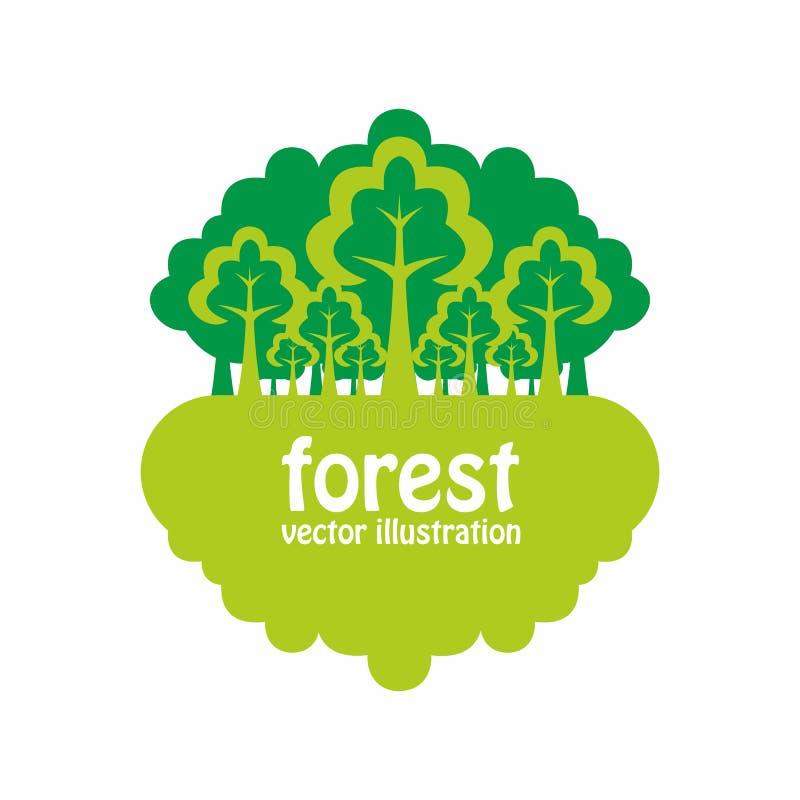 Floresta ilustração do vetor