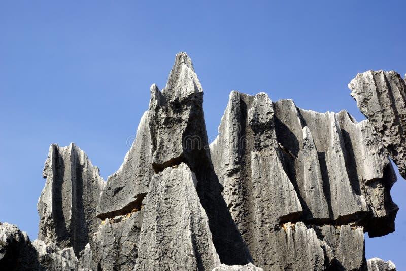 Floresta da pedra de Shilin em Kunming, Yunnan, China foto de stock royalty free