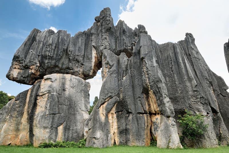 Floresta de pedra, Yunnan, China foto de stock