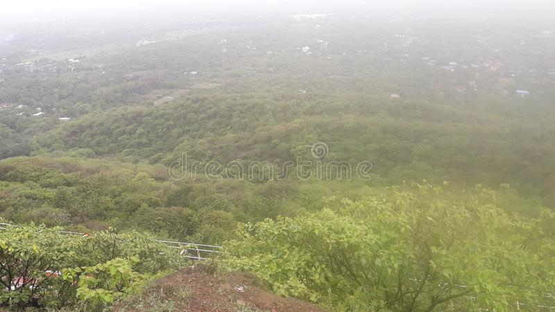Floresta do monte de Parnera na Índia 'beauti de Gujarat do valsad do valsad ' imagens de stock