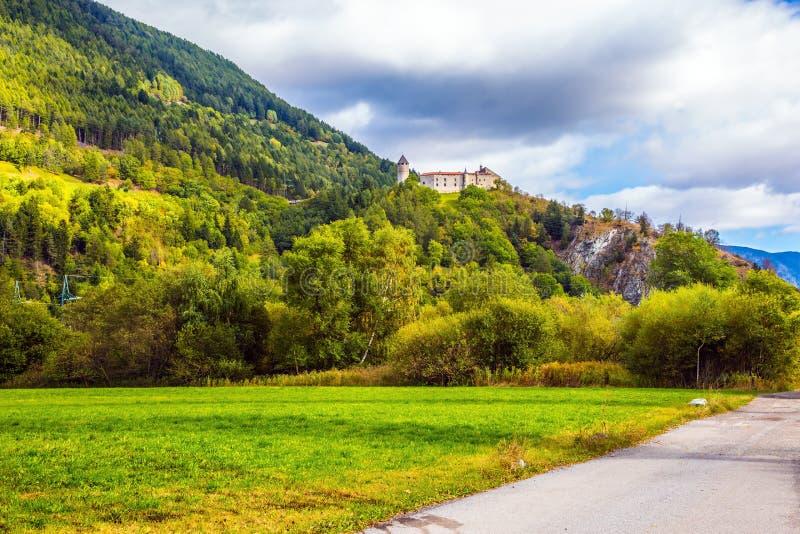 Floresta encantador da montanha fotos de stock royalty free