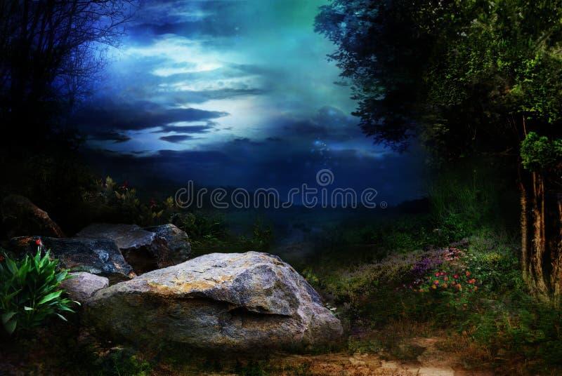 Floresta Enchanted ilustração do vetor