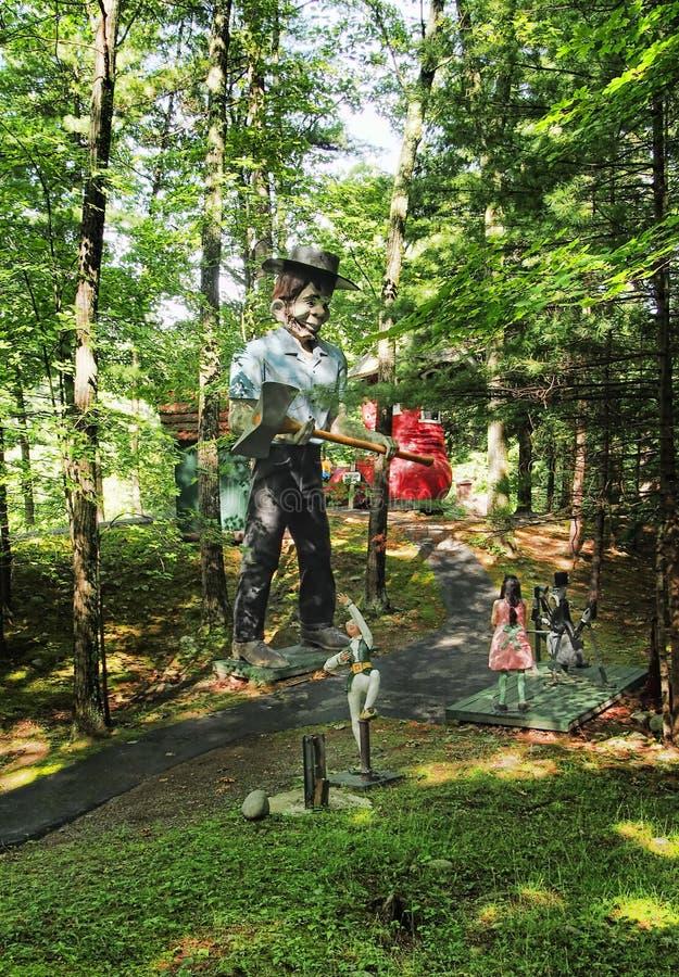A floresta mágica imagem de stock royalty free