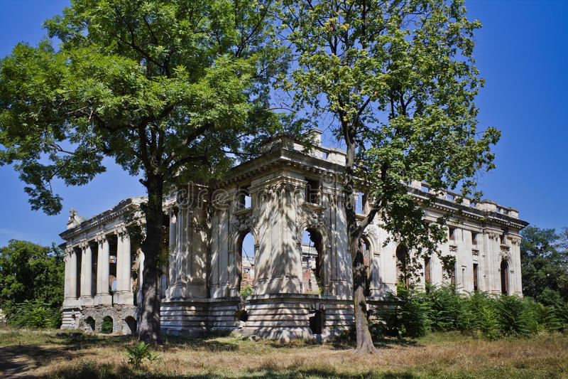 Floresti Palace royalty free stock photography