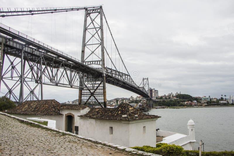Florianópolis/SC - Brasilien arkivbilder