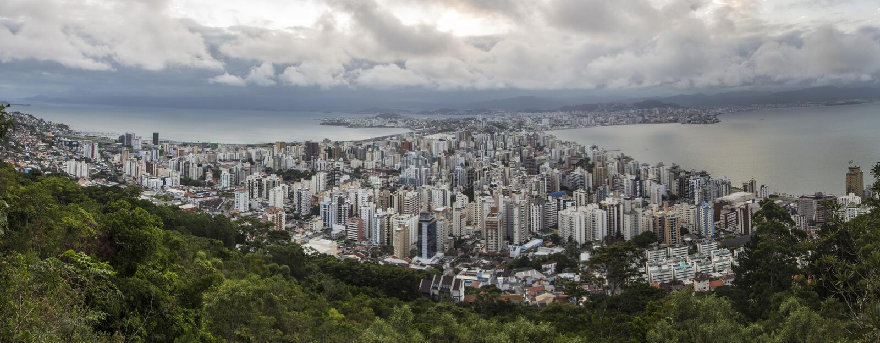 Florianópolis/SC - Brazilië royalty-vrije stock foto's