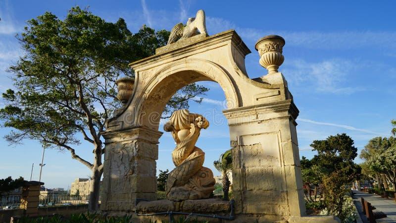 Floriana, Мальта стоковые фотографии rf