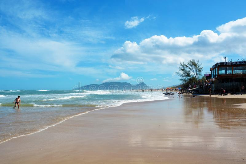 Florianopolis, Santa Catarina, Brésil photographie stock