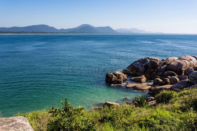 Florianopolis ZK da praia imagem de stock royalty free