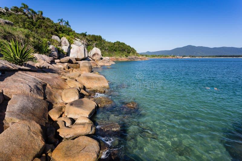 Florianopolis ZK da praia imagem de stock