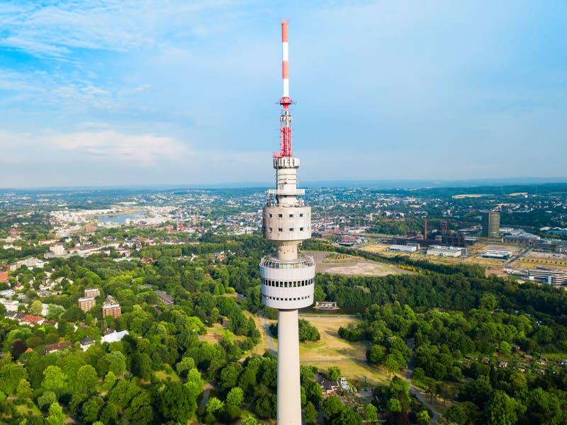 Florianturm Florian Tower em Dortmund foto de stock royalty free