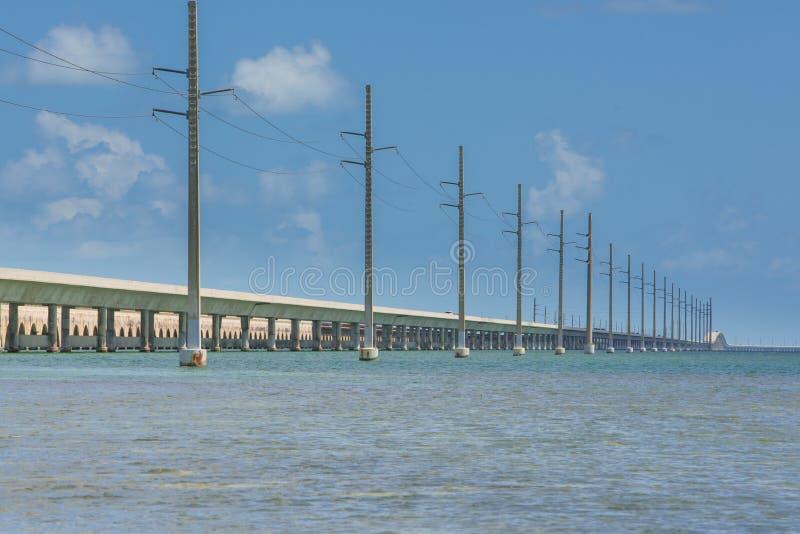 Florida-Überseelandstraße stockbilder