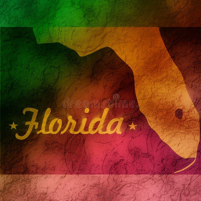Florida stock illustratie