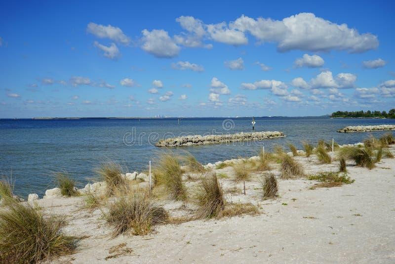 Florida apollo beach. Apollo beach in Florida, USA royalty free stock photo