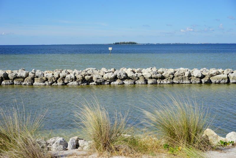 Florida apollo strand arkivbilder