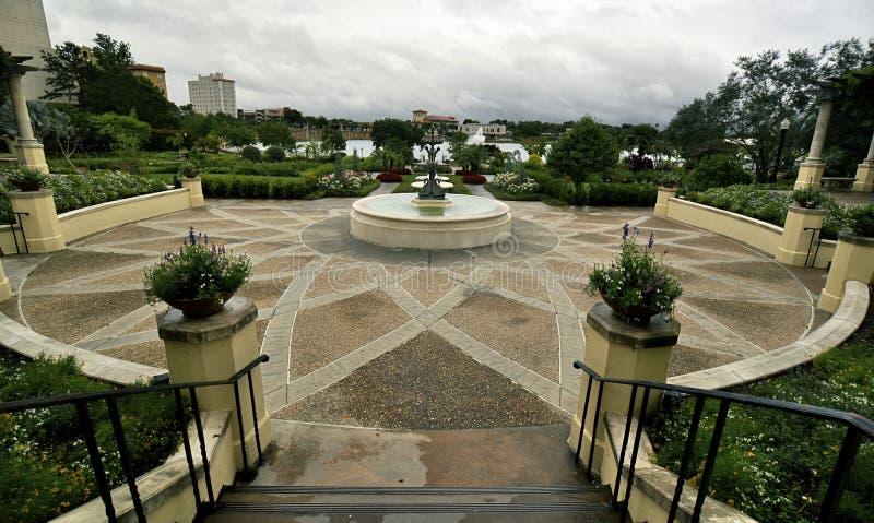 florida arbeta i trädgården hollis lakeland royaltyfria foton
