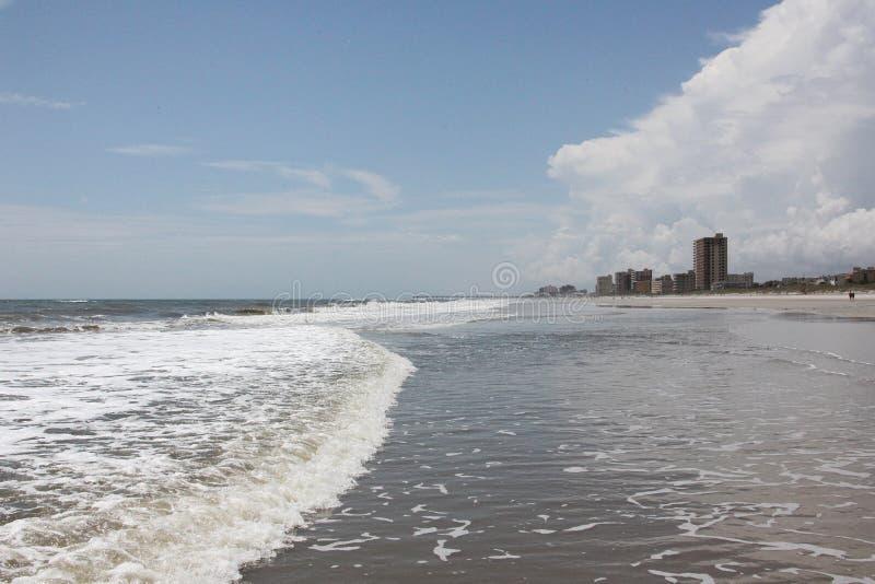Florida beach. Sunshine Florida beach in the summer time stock image
