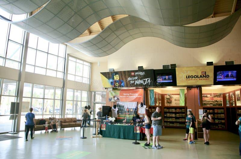 Florida-Begrüßungszentrum-Gebäude stockfotos