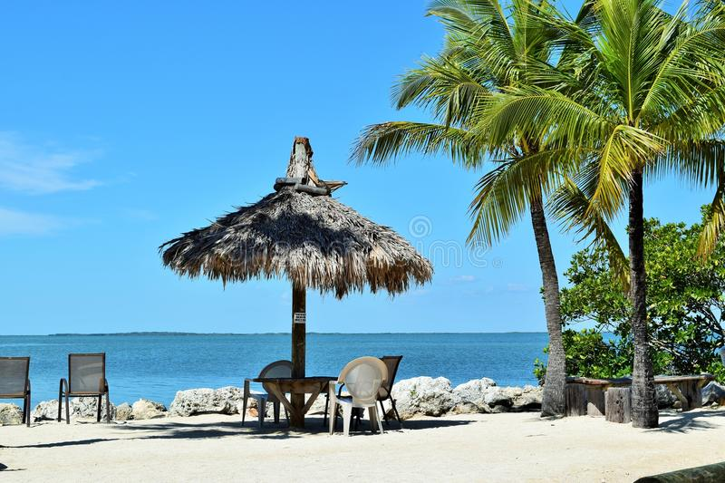 Florida chiude a chiave la spiaggia incontaminata immagini stock libere da diritti