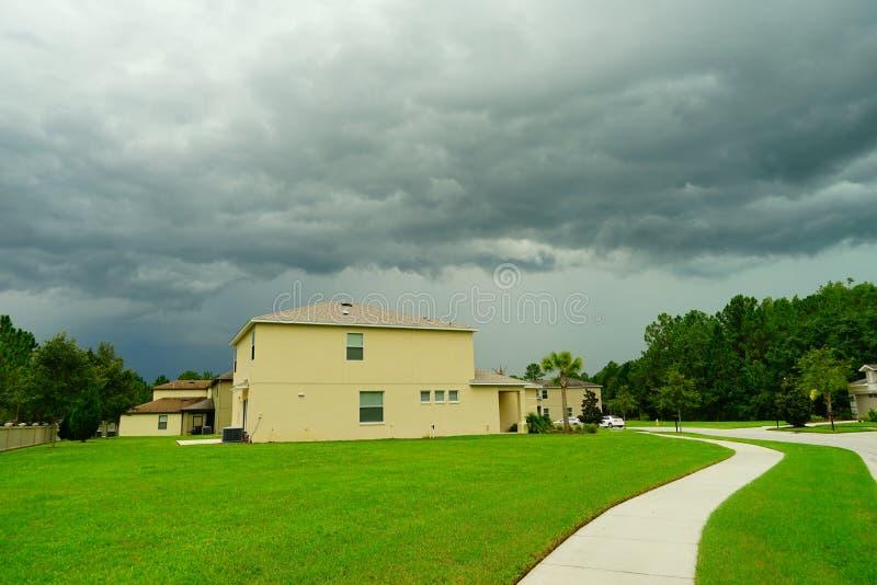 Florida cloud royalty free stock photography