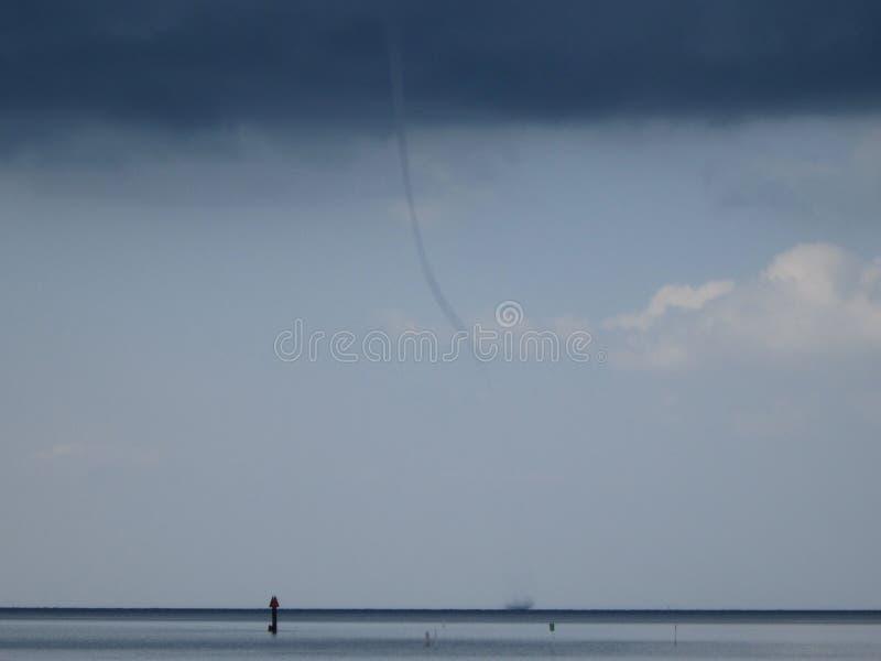 Florida east coast tornado royalty free stock photos