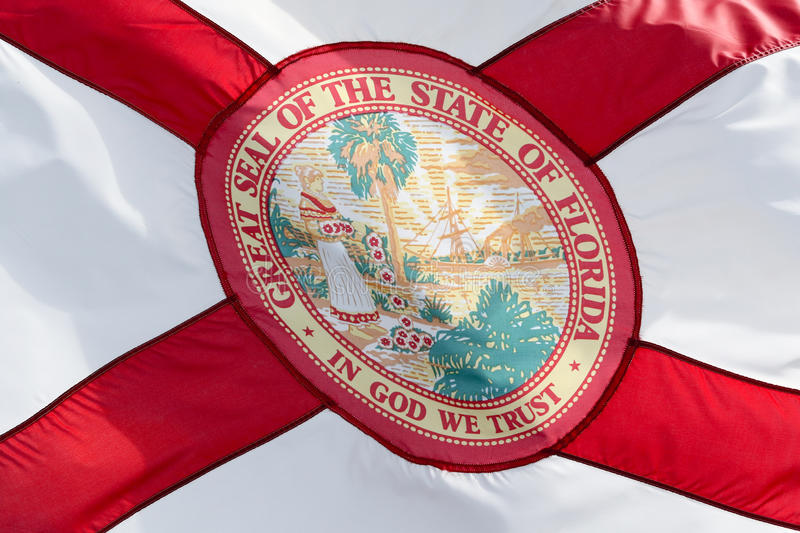 Florida Flag stock image