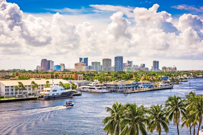 florida Fort Lauderdale royaltyfri bild