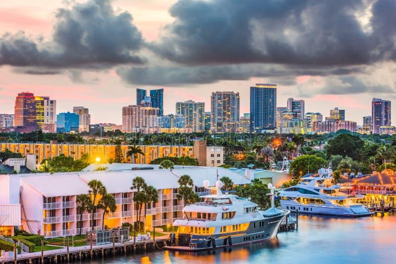 florida Fort Lauderdale arkivbild
