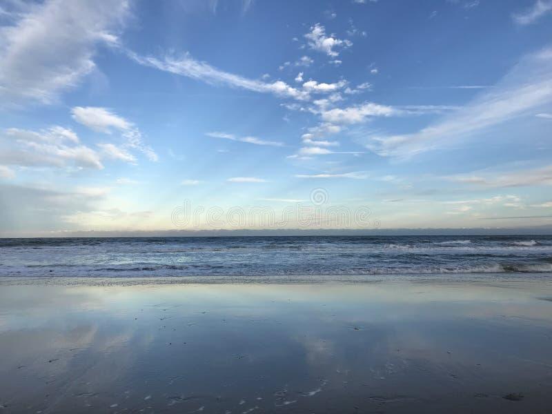 Florida is gekend voor zijn eindeloze stranden - FLORIDA royalty-vrije stock fotografie