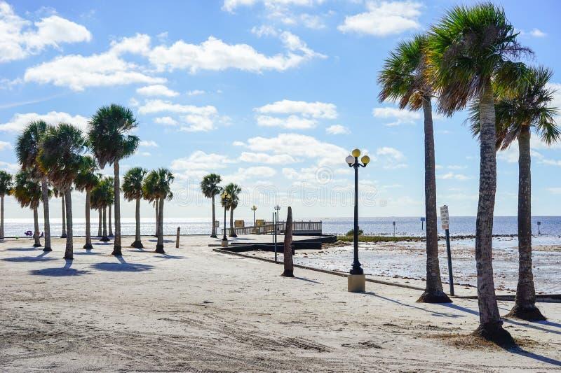 Florida-hernando Strandhaus stockbilder