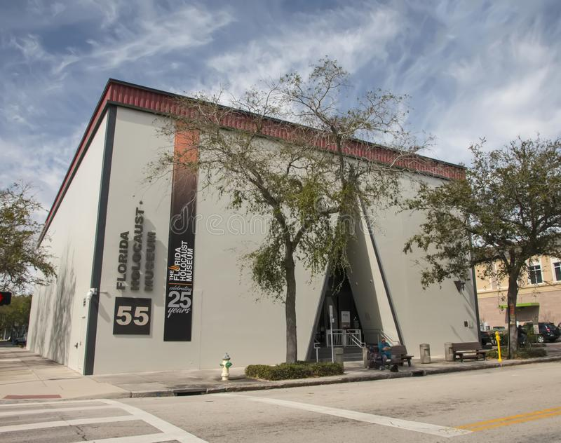 Florida Holocaust Museum In St. Petersburg stock photos