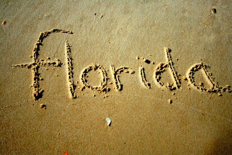 Florida im Sand stockbild