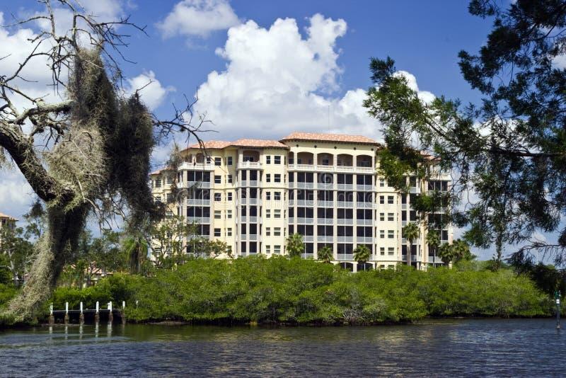 Florida Luxury Condos royalty free stock photography
