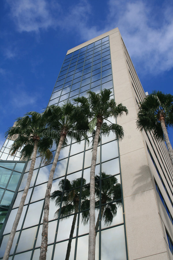 Florida Office Building royalty free stock photography