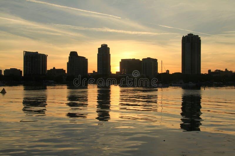 Florida Saint Petersburg Harbour stock photo