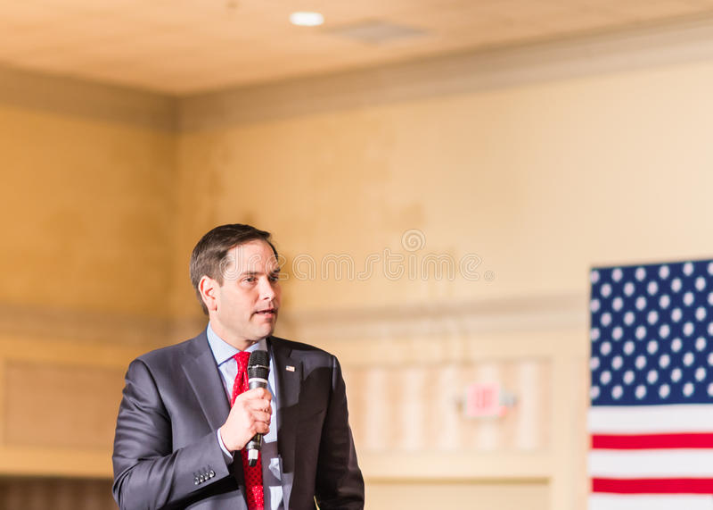 Florida Senator Marco Rubio stock photography