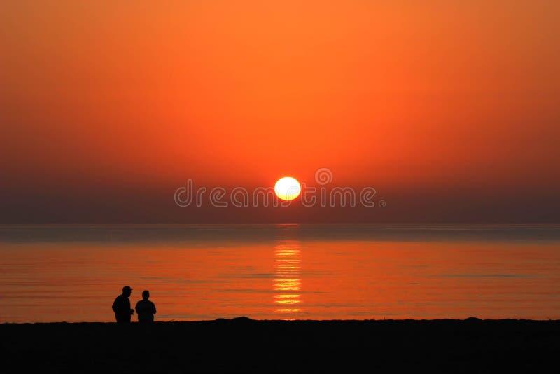 Florida soluppgång royaltyfri bild