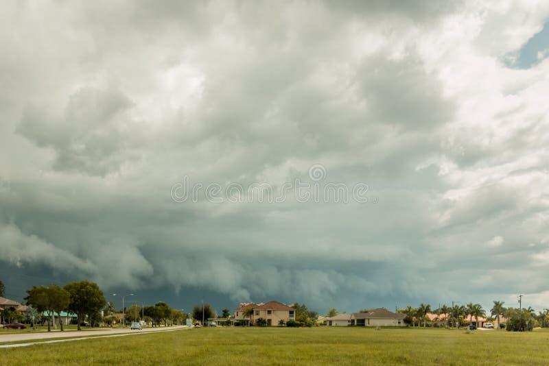 Florida sommarstormar royaltyfri foto
