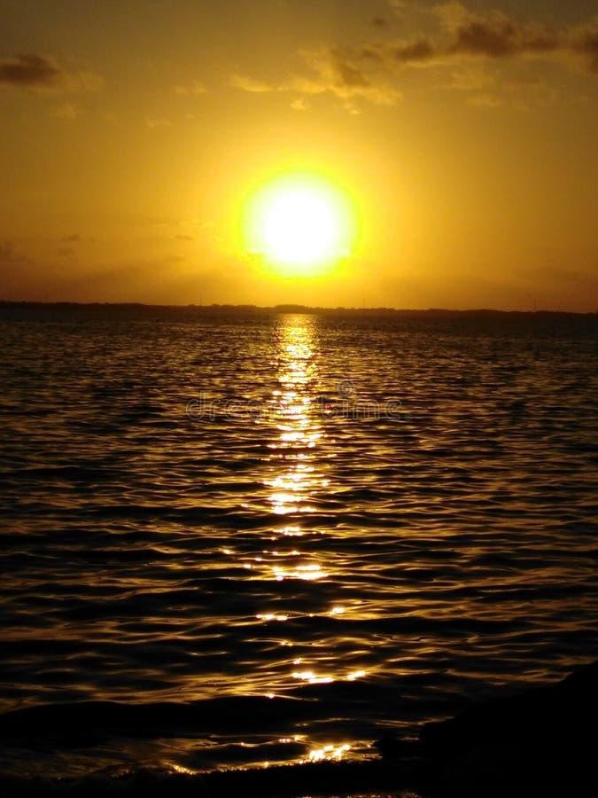 Florida-Sonnenaufgang lizenzfreie stockfotos